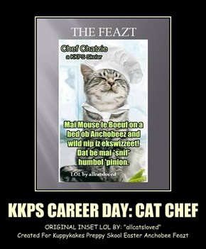 KKPS CAREER DAY: CAT CHEF