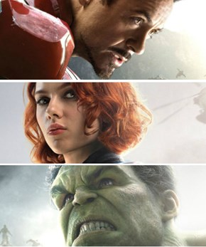 "Get a Closer Look at Marvel's ""Avengers: Age of Ultron"" Character Posters [Vision Update]"