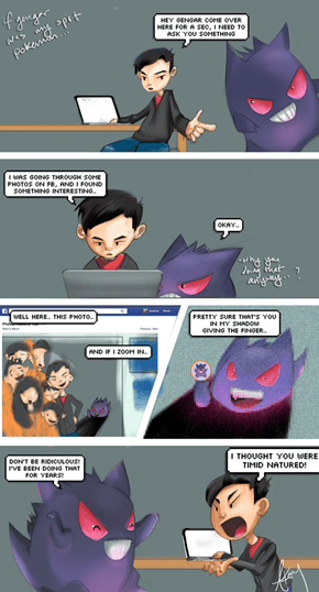 What Gives, Gengar?