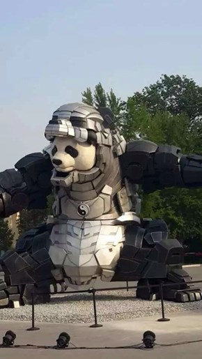 Iron Panda, Suit Up and Move Out!
