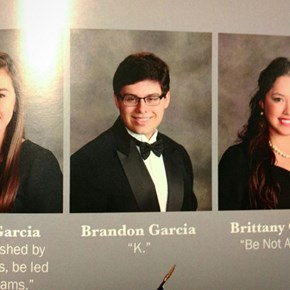 Get Me a Quote for the Yearbook When You Can