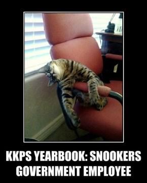 KKPS YEARBOOK: SNOOKERS GOVERNMENT EMPLOYEE