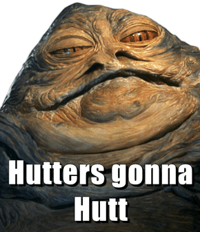 Hutters gonna Hutt