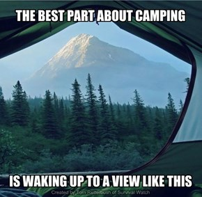 THE BEST PART ABOUT CAMPING