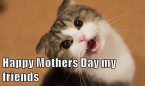 Happy Mothers Day my friends