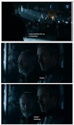 Stannis Is Also Fuhrer of the Grammar Nazis