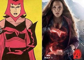 Marvel's Golden Age Avengers Compared to the Age of Ultron Posters