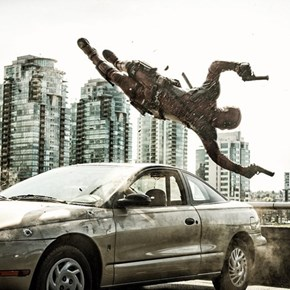 Deadpool's In Action In This New Set Photo