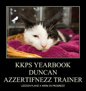 KKPS YEARBOOK DUNCAN  AZZERTIFNEZZ TRAINER