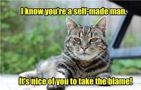 Snarky Cat Is Snarky