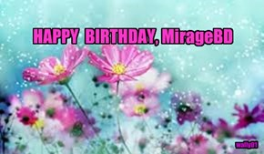 HAPPY  BIRTHDAY, MirageBD