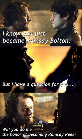 Theon Finally Give Up.... To His Heart
