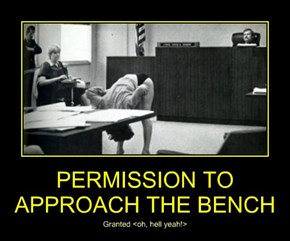 PERMISSION TO APPROACH THE BENCH
