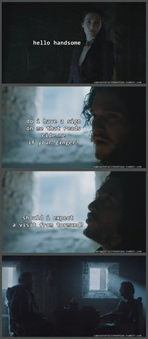 Jon Snow is a Type for Some People...