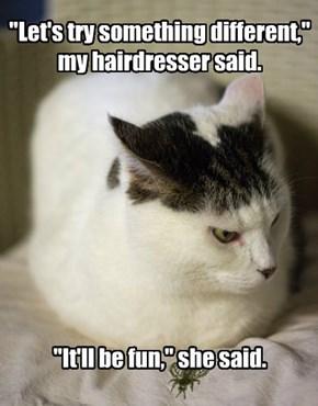 Bad hair year ahead.