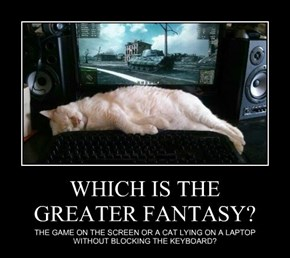 WHICH IS THE GREATER FANTASY?