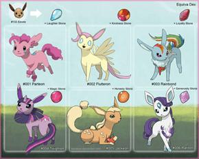 Pony Eeveelutions