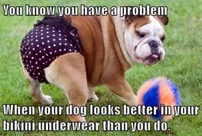 Bikini Body Bulldog