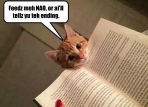 Feedz meh NAO, or ai'll tellz yu teh ending.