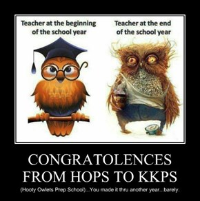 CONGRATOLENCES FROM HOPS TO KKPS