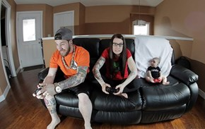 A Family That Games Together...