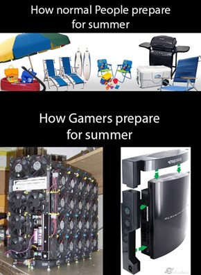 How Gamers Prepare for Summer