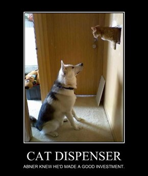 CAT DISPENSER