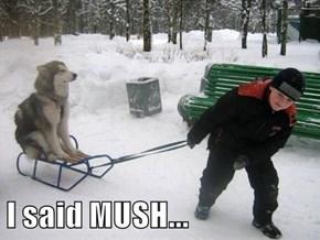 I said MUSH...