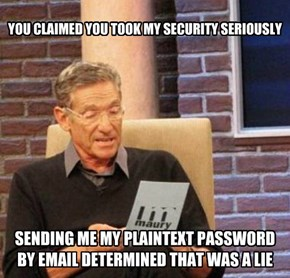 Hope You Weren't Using The Same Password Elsewhere