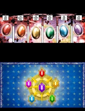 Elements of Infinity Gems