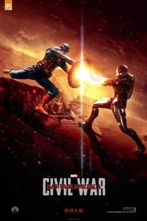 Civil War Fan Poster Kicks Up Some Sparks