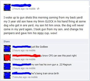 The Birth of an American, Complete With a Call to CPS