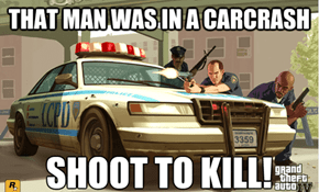 Law Enforcement in Grand Theft Auto