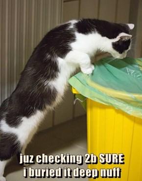 juz checking 2b SURE                                    i buried it deep nuff