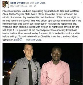 This Virginia Trooper Goes Above and Beyond to Help a Stranded Citizen
