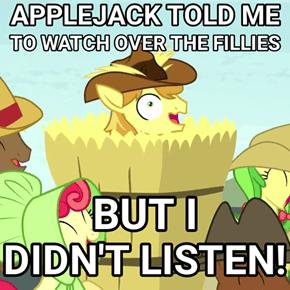 Who Listens to Applejack