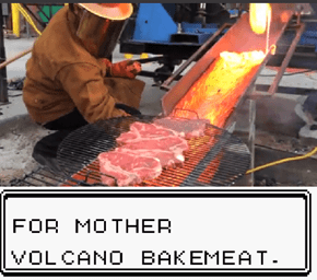 Mmm, Volcano Bakemeat