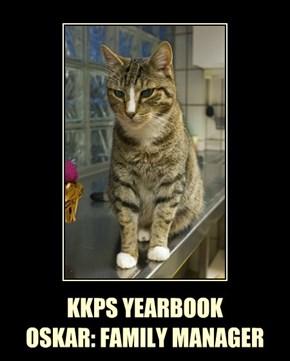 KKPS YEARBOOK OSKAR: FAMILY MANAGER