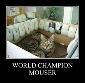WORLD CHAMPION MOUSER