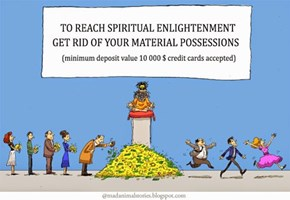 Saving Up For Enlightenment