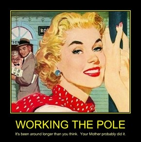 WORKING THE POLE