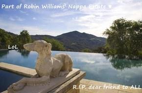 Part of Robin Williams' Nappa Estate ♥    LoL R.I.P. dear friend to ALL
