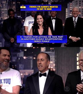 The Seinfeld Send-Off of David Letterman