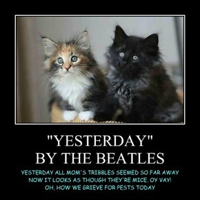 """YESTERDAY"" BY THE BEATLES"
