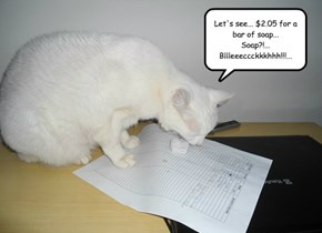 The Invoice (or) Read Before You Eat