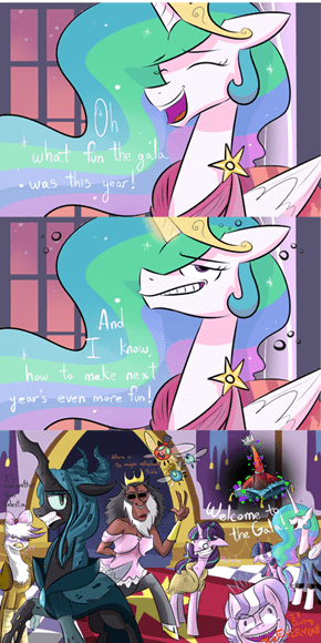Trollestia Throws The Best Party