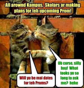 KKPS Prom2015: Kitties pair up for teh Prom..