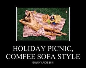 HOLIDAY PICNIC, COMFEE SOFA STYLE