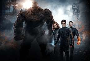 In The New Fantastic Four Promo Stills, The Thing is Gigantic