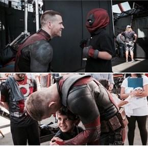 Ryan Reynolds and Deadpool Make-A-Wish
